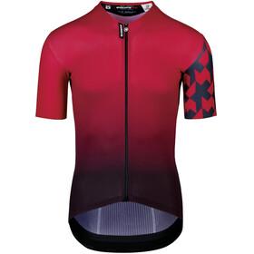 ASSOS Equipe RS Professional Edition Summer Maglietta a maniche corte Uomo, rosso/nero